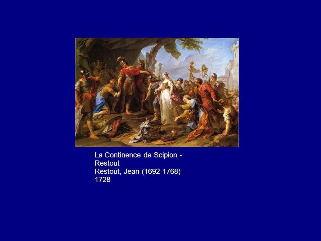 La Continence de Scipion - Restout Restout, Jean (1692-1768) 1728