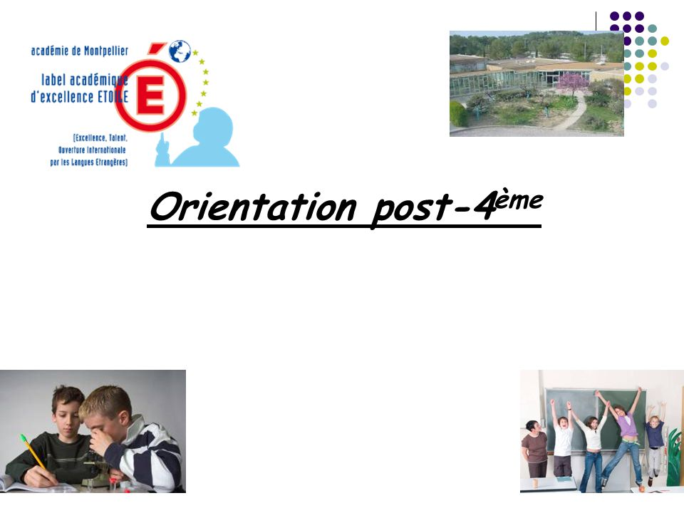 Orientation post-4 ème