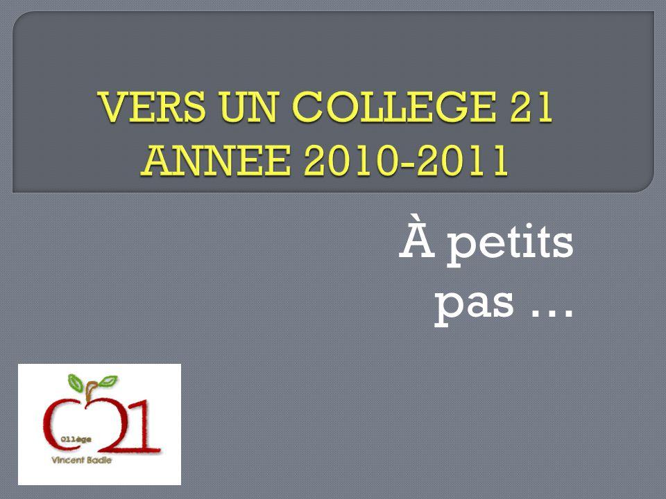 A ce jour les classes de 3 ème 3 et 3 ème 5 (Mme Rigaux et Mme de Tonnac) et des classes de 6 ème (Mme Schalk) sont impliquées dans le projet.