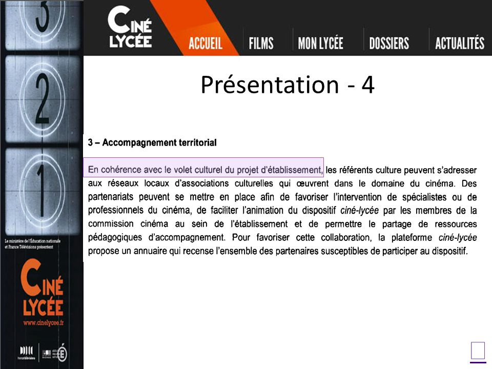 Présentation - 4