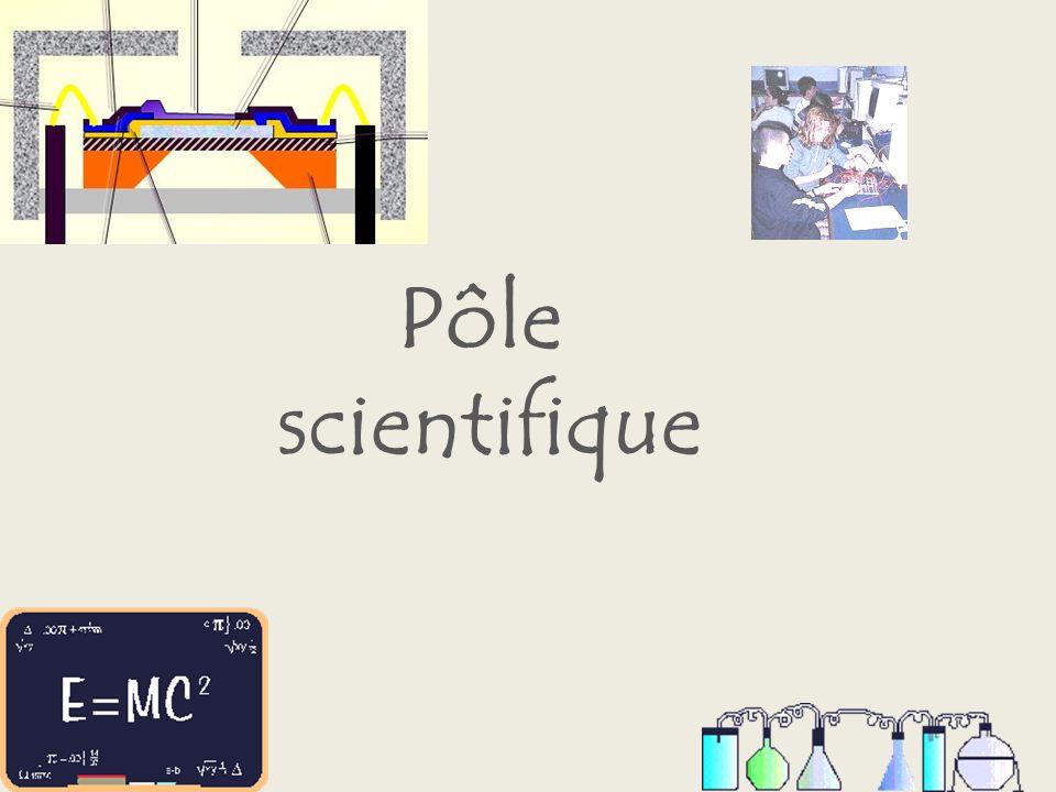 Pôle scientifique
