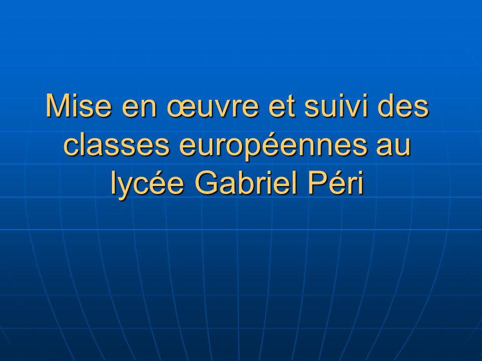 Les textes réglementaires - texte de base sur les Sections Européennes dans les établissements du second degré : Circulaire n° 92-234 du 19 août 1992 (B.O.