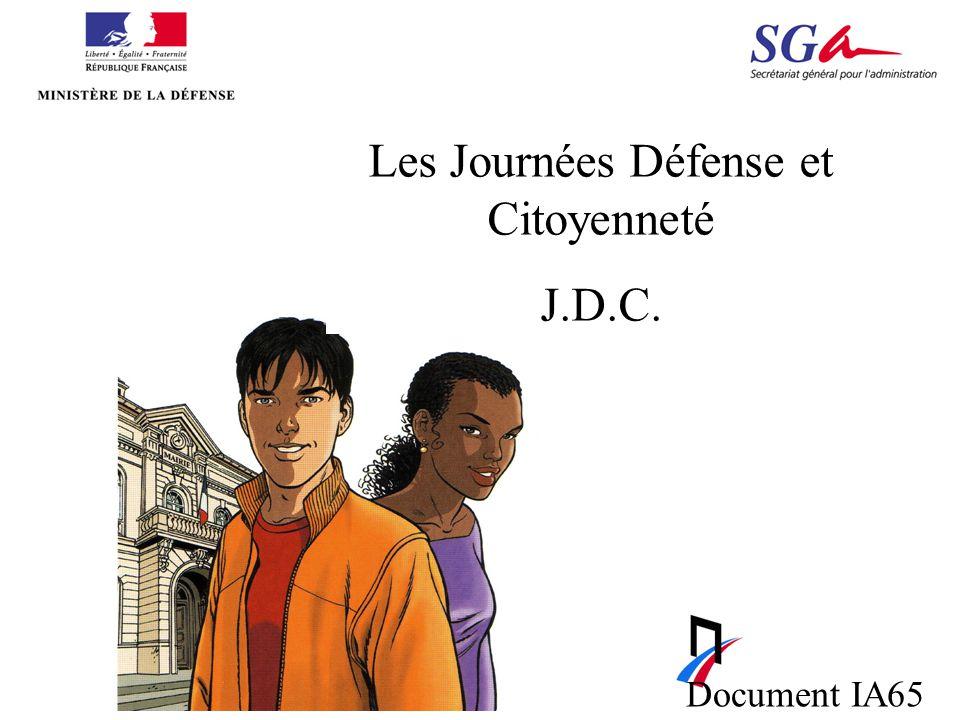 Les Journées Défense et Citoyenneté J.D.C. Document IA65