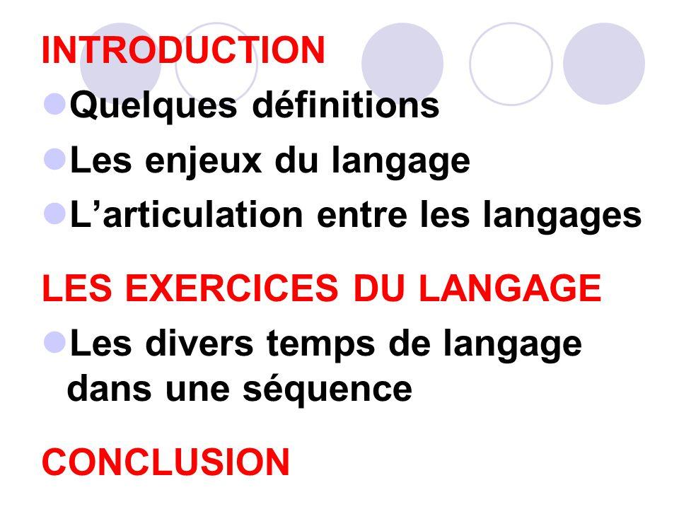 INTRODUCTION Quelques définitions