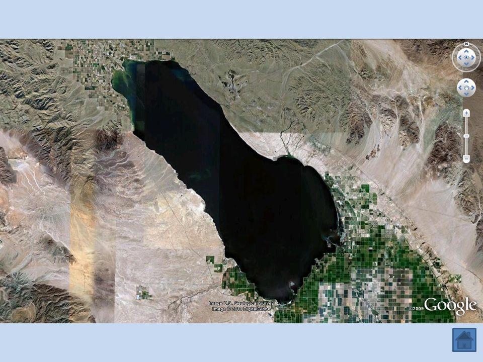 Imperial Valley Salton Sea ETATS-UNIS MEXIQUE Colorado Vers la légende