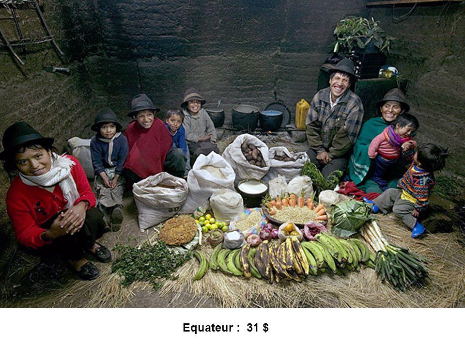 Equateur : 31 $