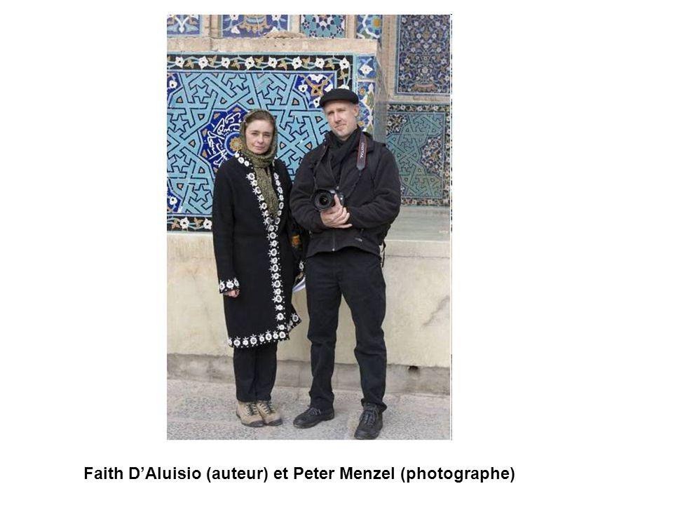 Faith DAluisio (auteur) et Peter Menzel (photographe)