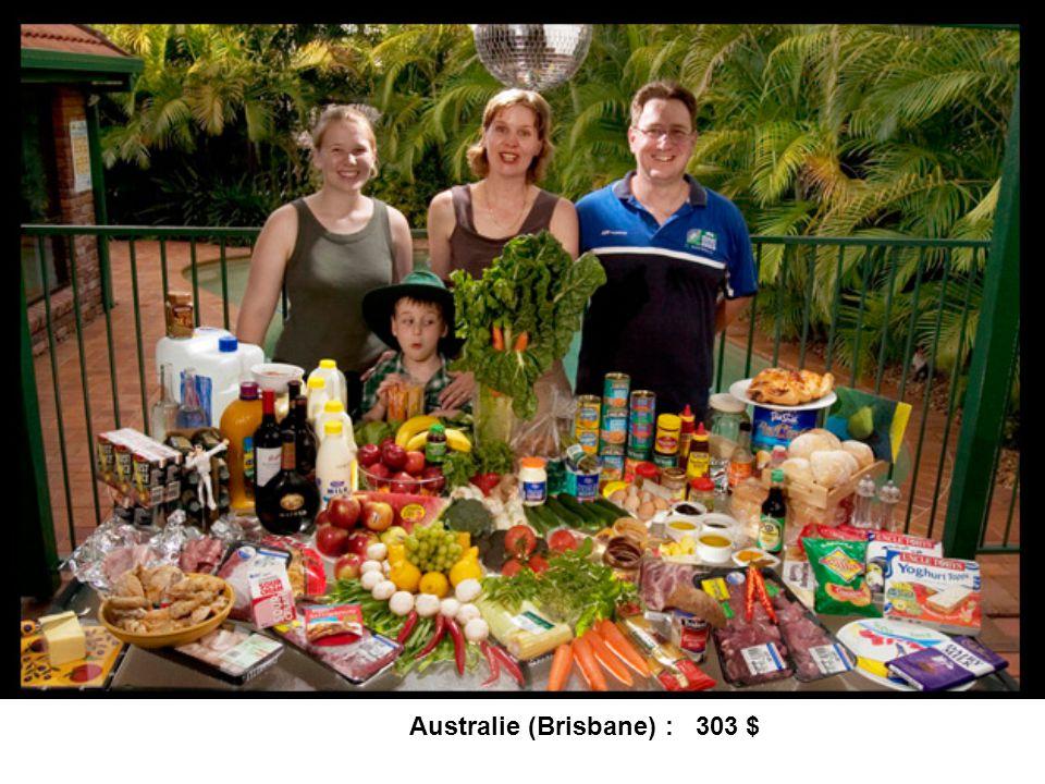 Australie (Brisbane) : 303 $