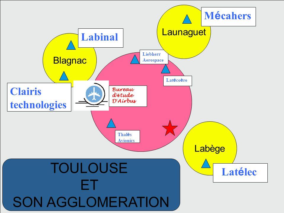 Bureau d é tude D Airbus Lat é co è re Thal è s Avionics Liebherr Aerospace TOULOUSE Aerospace Valley