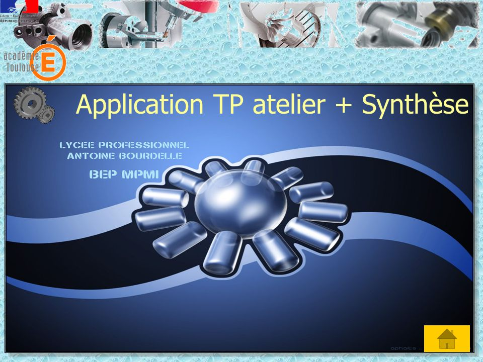 Application TP atelier + Synthèse