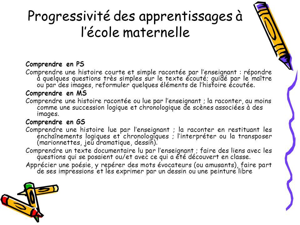 Progressions pour le CE2 et le cours moyen Les tableaux suivants donnent des repères aux équipes pédagogiques pour organiser la progressivité des apprentissages.