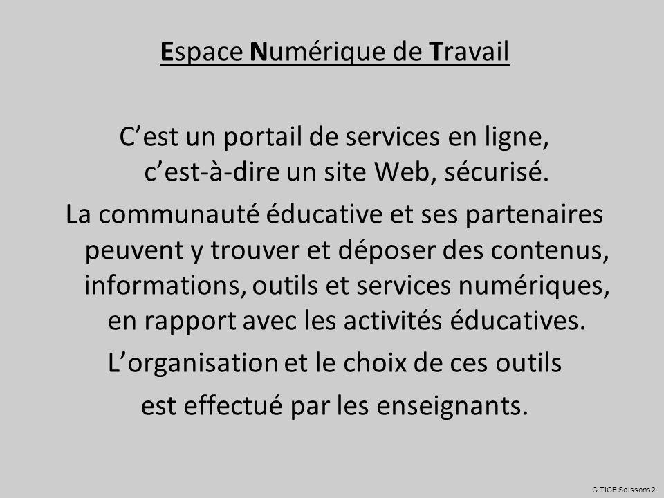 ECOLE ELEVESPARENTSCOLLECTIVITE C.TICE Soissons 2