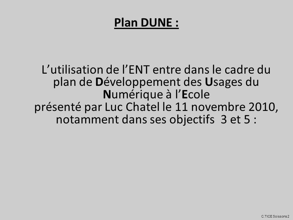 4. Obligations l é gales d utilisation d un ENT C.TICE Soissons 2