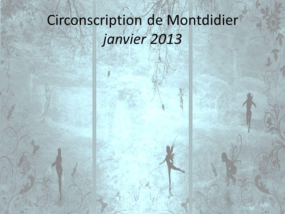 Circonscription de Montdidier janvier 2013