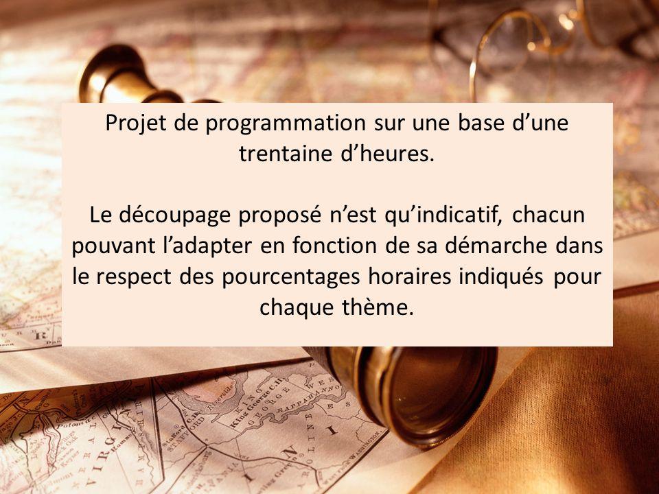 Projet de programmation sur une base dune trentaine dheures.
