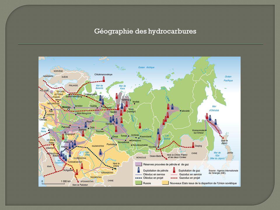Géographie des hydrocarbures