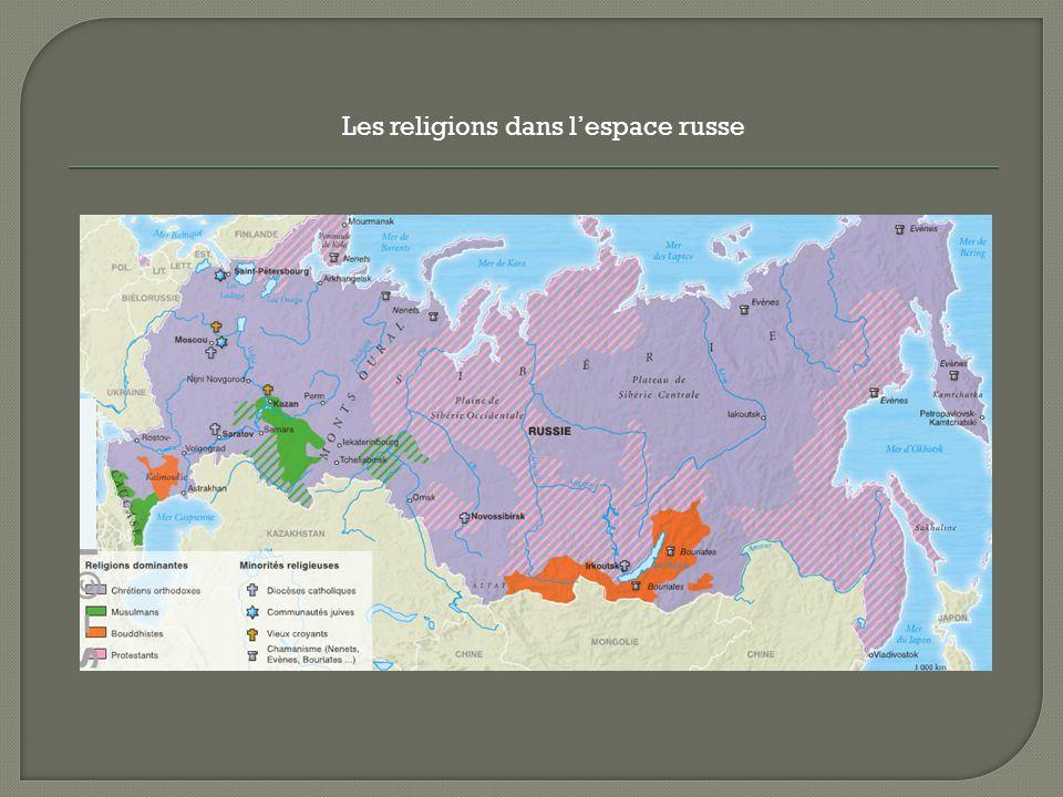 Les religions dans lespace russe
