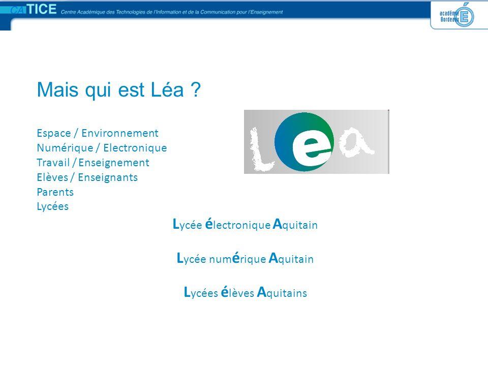 Accord de partenariat LéA