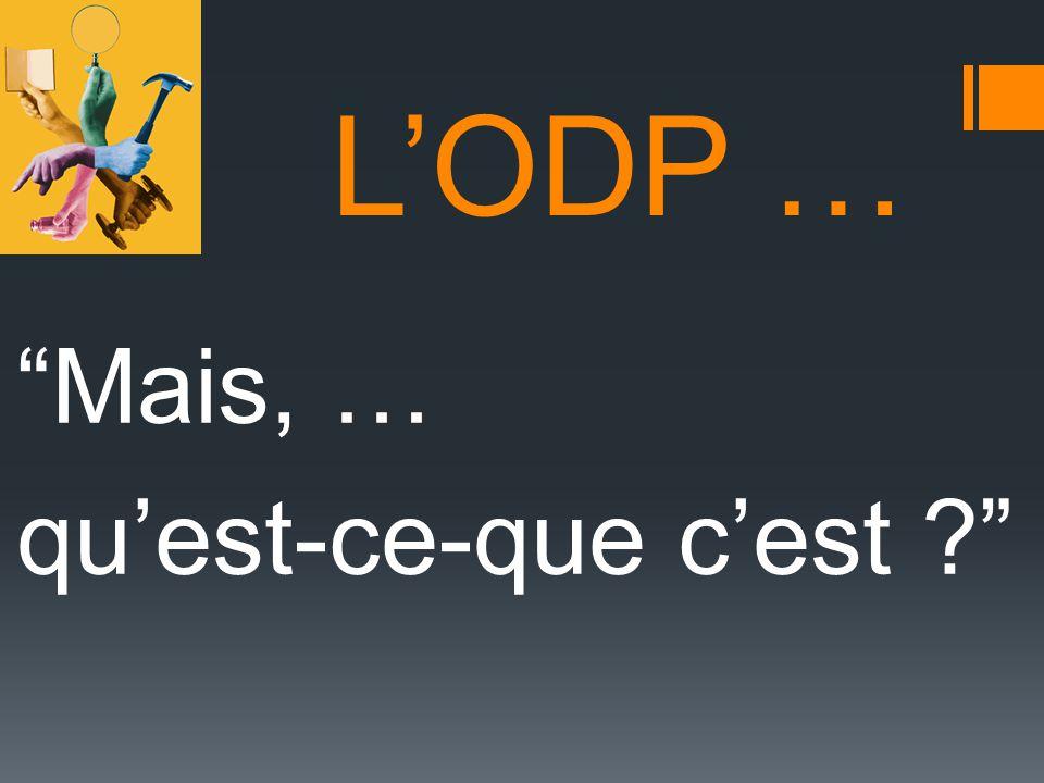LODP (option découverte professionnelle) Eviter les confusions Quelques fausses id é es : Croire que cette option est r é serv é e à un public de « faible niveau scolaire ».