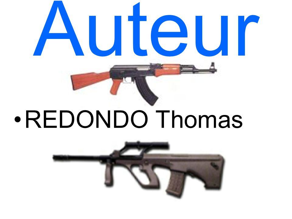Auteur REDONDO Thomas