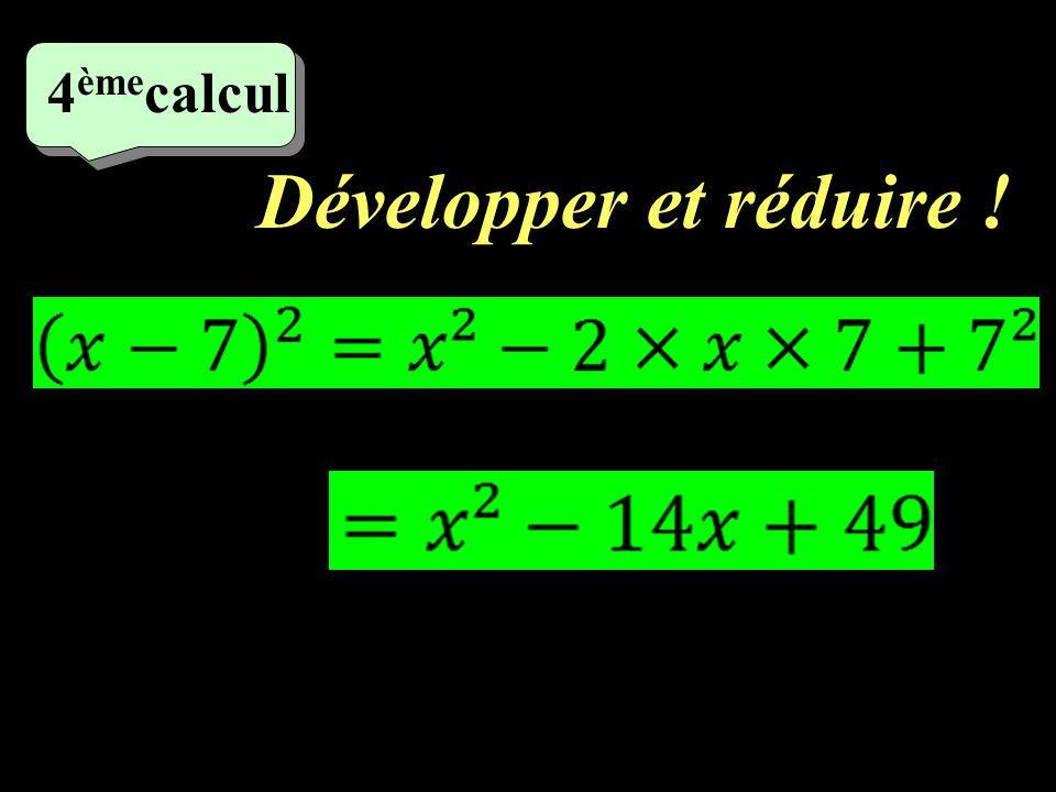 Calculer astucieusement ! 3 ème calcul