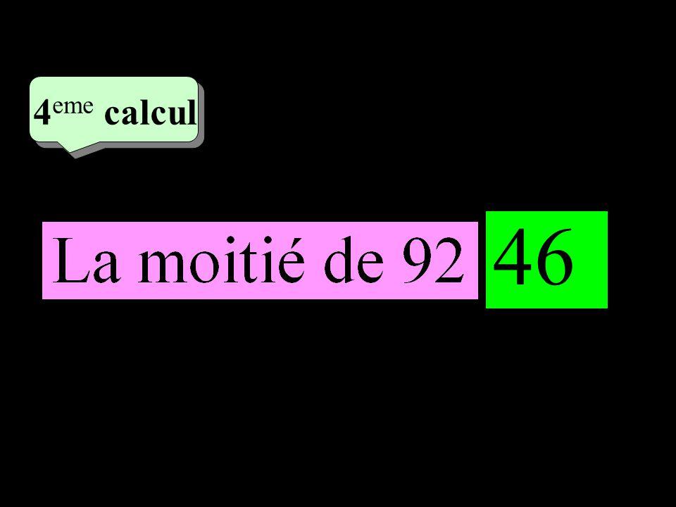 –1–1 2 eme calcul 2 eme calcul 4 eme calcul 46