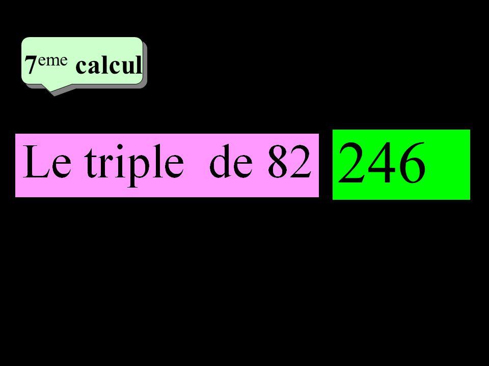 –1–1 4 eme calcul 4 eme calcul 7 eme calcul 246