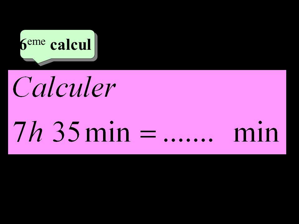 4 eme calcul 4 eme calcul 7 eme calcul Calculer le périmètre du polygone ABCDEF A B C D E F 0,5dm