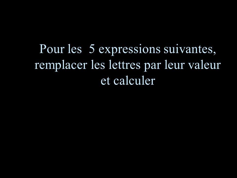 Calculez! –1–1 6 eme calcul