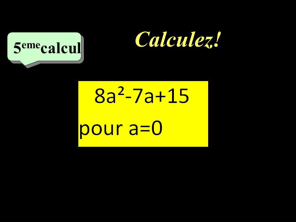 –1–1 10 eme calcul Développez!