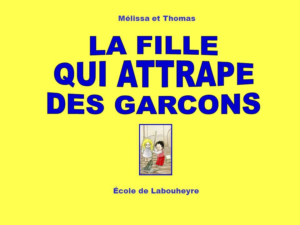 1 Mélissa et Thomas École de Labouheyre
