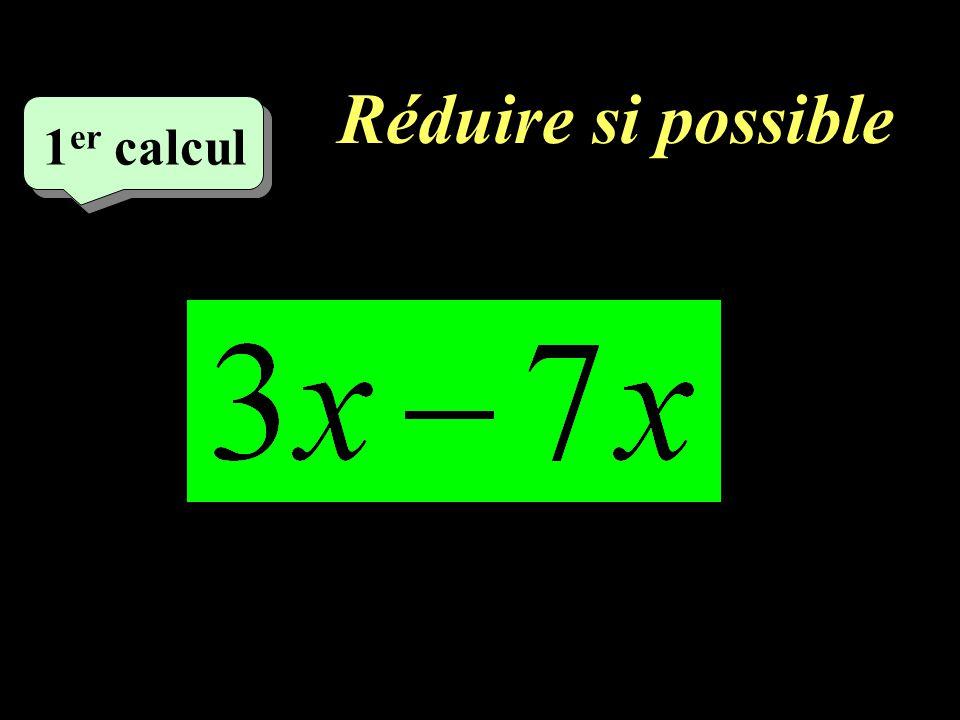 Développer et réduire 3 eme calcul 3 eme calcul 10 10 eme calcul
