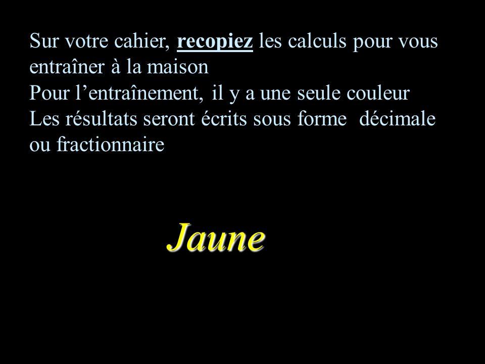 CALCUL MENTAL Thème1 puissances ENTRAINEMENT Collège F Mauriac