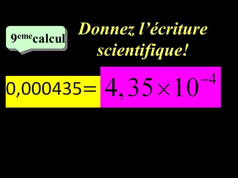 Calculez! –1–1 8 eme calcul