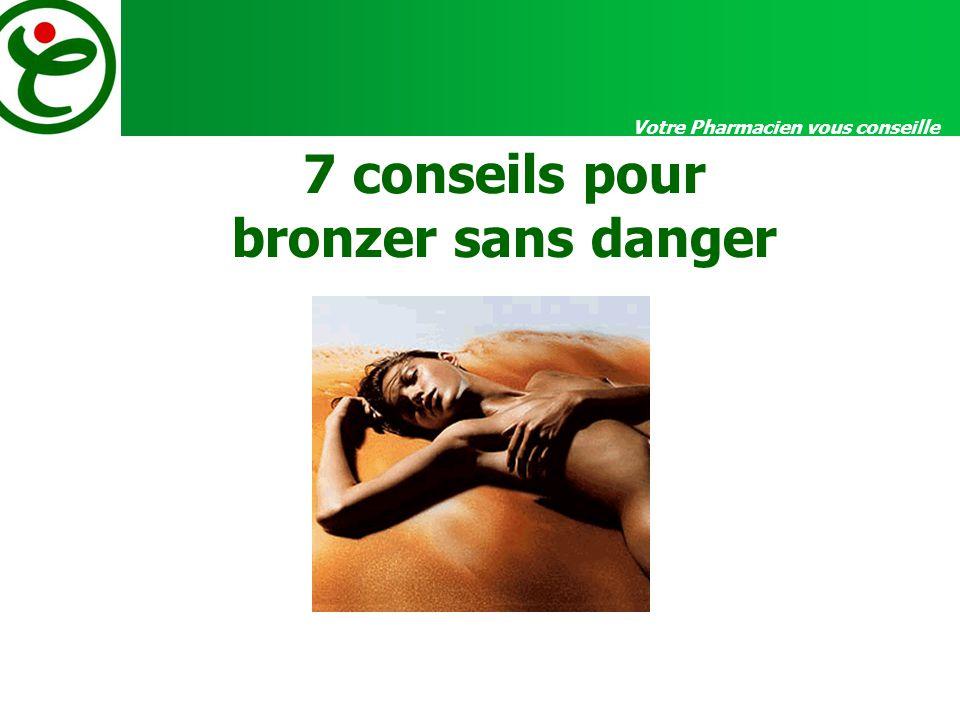 7 conseils pour bronzer sans danger