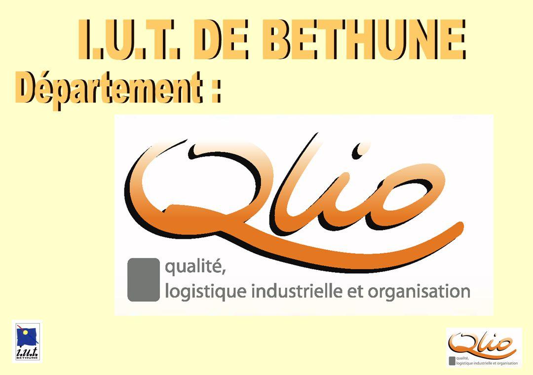 PRESENTATION QLIO JUIN2006 FRANCE n 22 en France n 2 dans lAcadémie u Béthune u Cambrai * Béthune