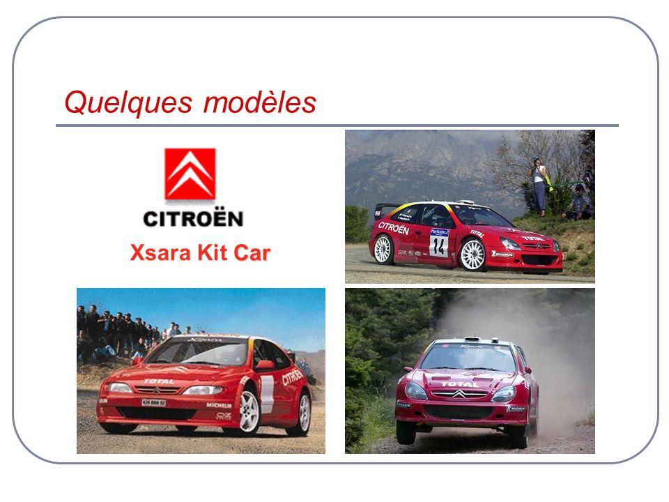 Quelques modèles Car Xsara Kit Car