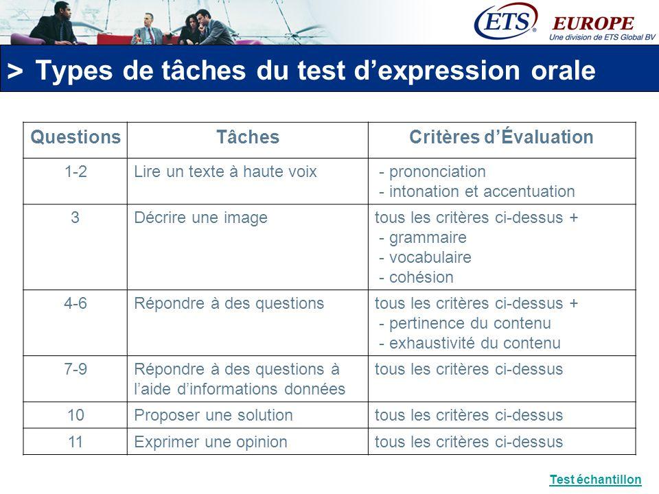 > Le Test TOEIC ® dExpression Écrite
