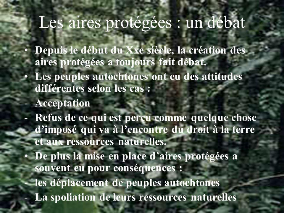 Conclusion Les principes énoncés doivent être à la base de toute gestion des aires protégées dans le futur.