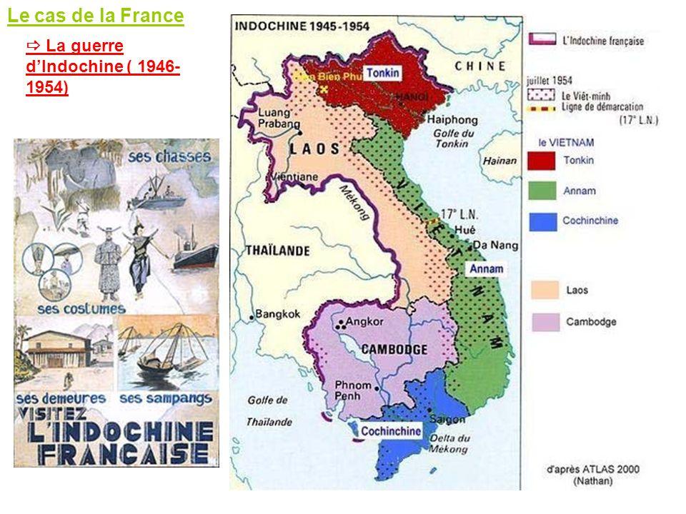 La guerre dIndochine ( 1946- 1954) Le cas de la France