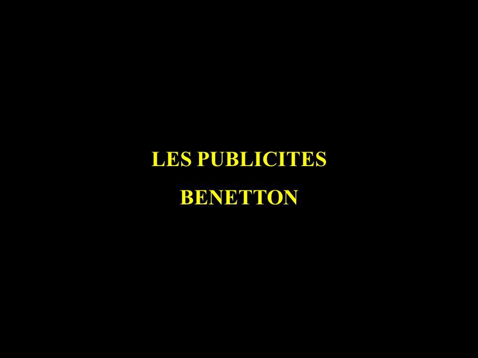 LES PUBLICITES BENETTON