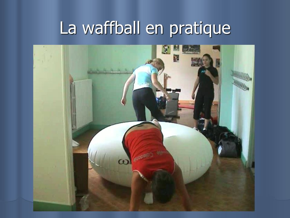 La waffball en pratique