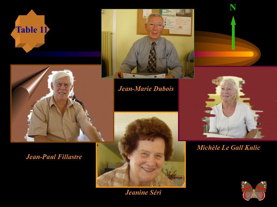 Rosy Forel Table 10 N Michel Bernard Colette Pépin Micheline Dronneau
