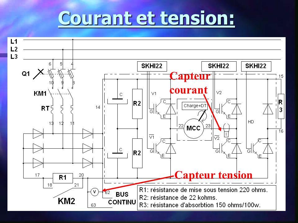Capteur à effet hall: –Principe de leffet hall: V H : Tension de sortie du capteur K: Coefficient du hall d: lépaisseur de la plaquette I c : Courant mesuré B: Champ magnétique