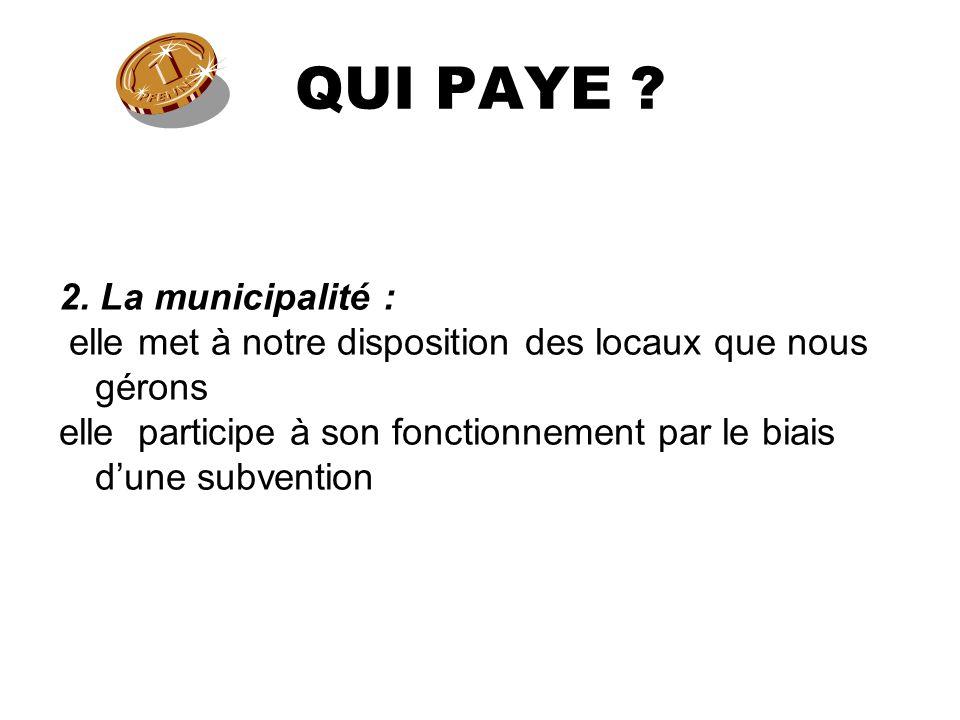 QUI PAYE . 2.