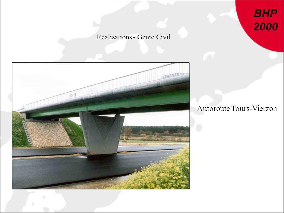 BHP 2000 DU NOUVEAU DANS LE BETON : Conclusions et recommandations de BHP 2000 BHP 2000 Réalisations - Génie Civil Autoroute Tours-Vierzon