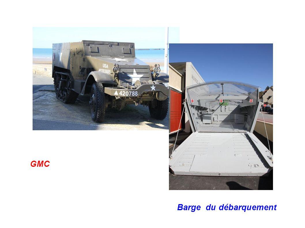 GMC Barge du débarquement