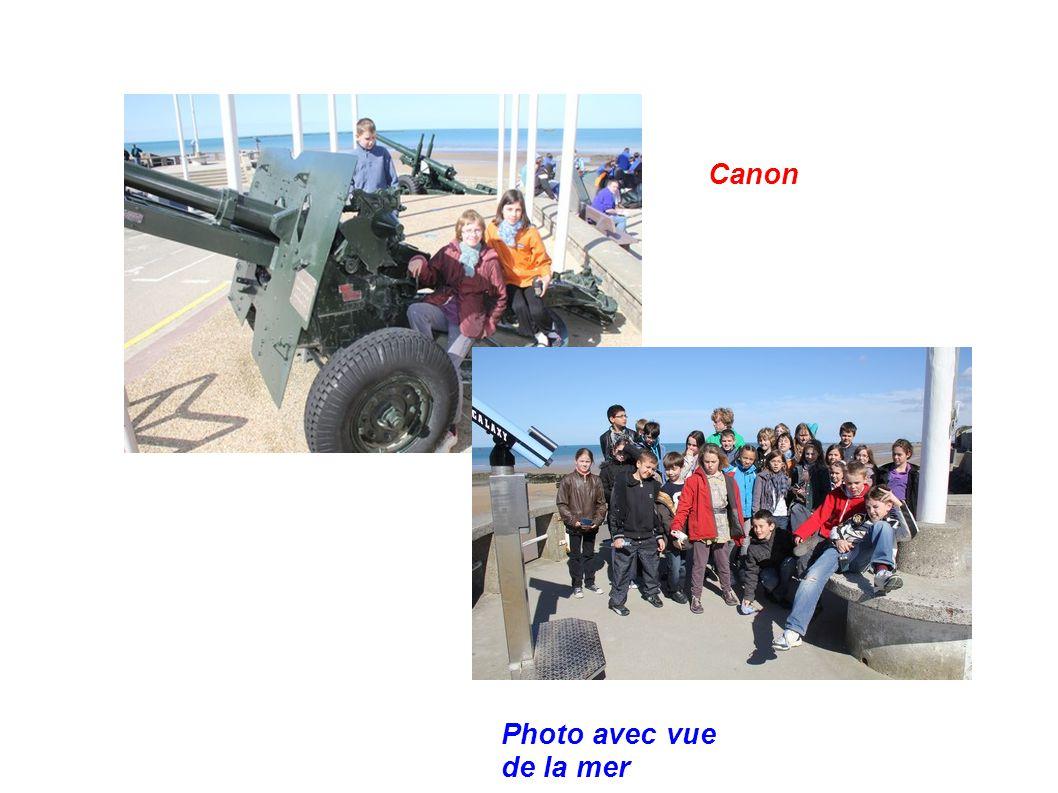 Canon Photo avec vue de la mer