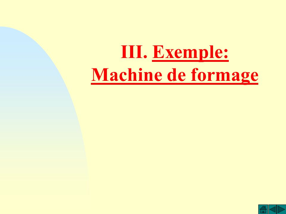 A7A4 A5 Reprise A7A4 A5 Init CI En fonction de la cinématique de la machine et des conséquences physiques des choix faits précédemment, le redémarrage