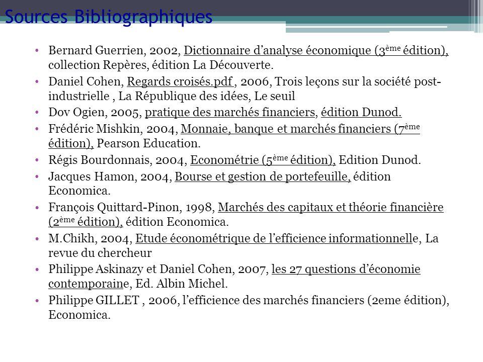 Bernard Guerrien, 2002, Dictionnaire danalyse économique (3 ème édition), collection Repères, édition La Découverte. Daniel Cohen, Regards croisés.pdf